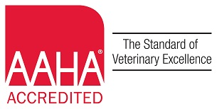 We are proud to be Accredited by the American Animal Hospital Association!